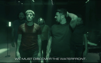 Silverstein play Discovering the waterfront in full… and from space